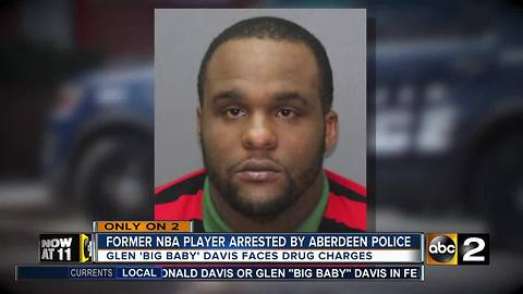 Former NBA player arrested by Aberdeen Police