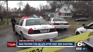 Man shot multiple times on Indianapolis west side - Video
