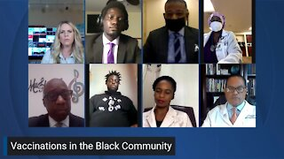 WPTV town hall on COVID-19 vaccinations in the Black community