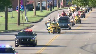 Procession for Fort Hood soldier Gregory Morales