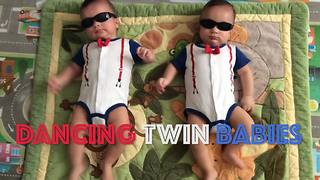 """The Cutest Twins and Triplets Dancing to Music"""