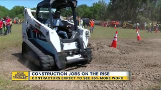 Tampa in need of construction workers - Video