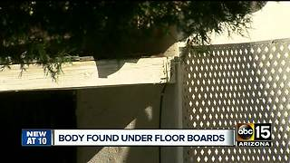 Two bodies found buried in backyard of Phoenix home - Video