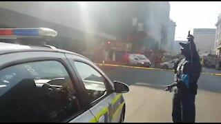 People trapped in Joburg burning building (xRG)