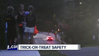 Here's how to stay safe while trick-or-treating this Halloween