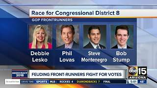 Race for Congressional District 8 is here - Video
