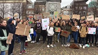 Students Across the World Join School Strike Climate Protest