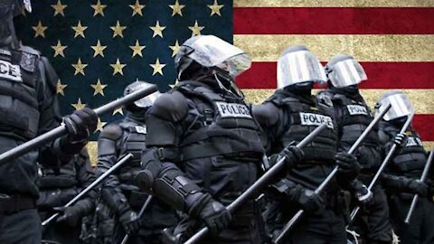 POLICE STATE IN DC: SOMETHING STRANGE IS AFOOT