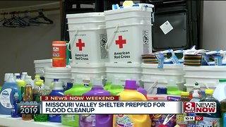 Missouri Valley shelter serving cleaning kits, meals as cleanup continues