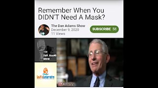 Remember When You DIDN'T Need A Mask?