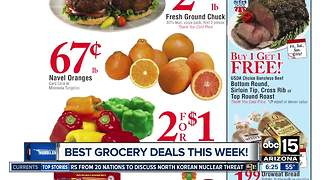 Here are the best grocery deals at the stores this week - Video