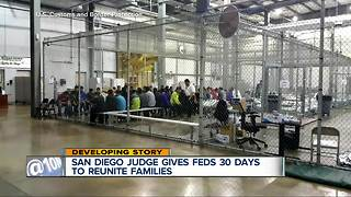 Federal judge in San Diego gives government deadline to reunite families - Video