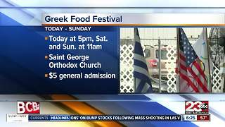 Greek Food Festival is back