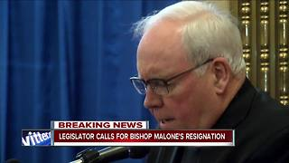 County lawmaker calls for Bishop Malone to resign - Video