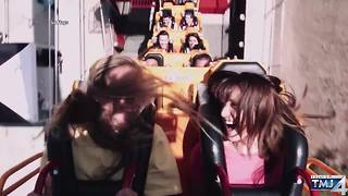 Record-breaking loop roller coaster to open at Six Flags Great America this Spring - Video