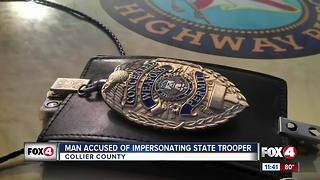 Man arrested for impersonating law enforcement - Video