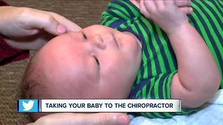 Chiropractors are seeing more infants and kids - Video