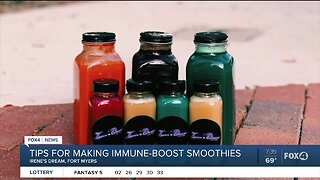 Juicing business offers health tips amid Coronavirus pandemic