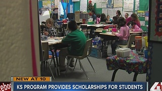 KS program provides scholarships for students - Video