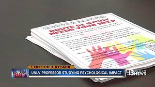 Professor studying psychological impact of 1 October - Video