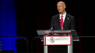 Gov. Rick Scott speaks at hurricane conference in West Palm Beach - Video