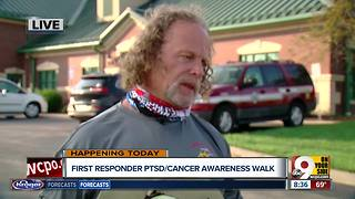 First responder PTSD/cancer awareness walk