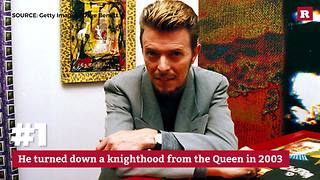 5 surprising facts about David Bowie | Rare People