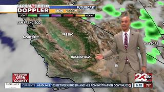 Heat, bad air quality, and rain chances for Kern County! - Video