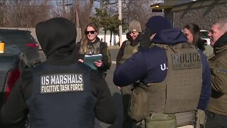 Operation Relentless - federal officers searching for fugitives