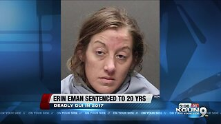 Woman sentenced to 20 years in prison for deadly DUI