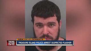Treasure Island Police arrest man that reportedly exposed himself to juvenile