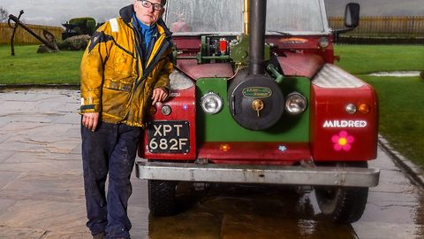 Bear Grylls' show favourite forks out £24k building steam-powered Land Rover