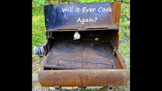 Restoring An Old Smoker/Grill/Rotisserie (Part 1)
