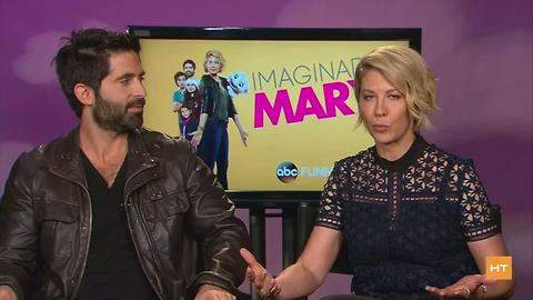 Stars of Imaginary Mary talk about family life while on set