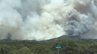 Colorado Spring Fire Grows by 20,000 Acres Overnight with Zero Containment - Video