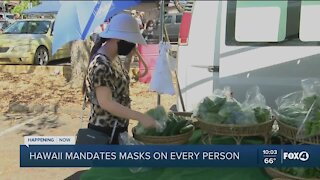 Hawaii extends mask mandate