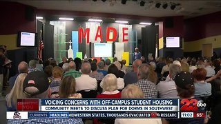 Southwest residents concerned over new proposed student housing
