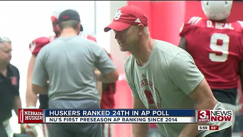 Huskers ranked 24th in AP preseason poll