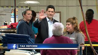 Speaker Paul Ryan talks tax reform in SE Wisconsin - Video