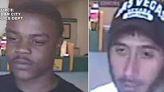 Officers investigating check cashing robberies