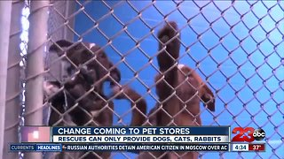 Changes coming to pet sales in California
