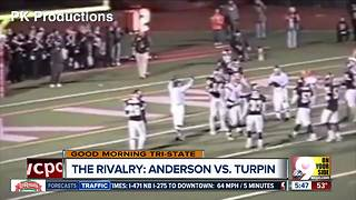 2007's football face off between Anderson, Turpin high schools was epic - Video