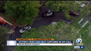 911 call released in PBSO deputy attempted murder-suicide - Video