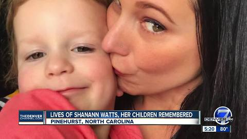 Funeral services held in North Carolina for Frederick mother Shanann Watts, daughters