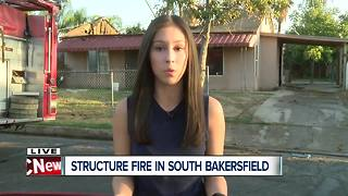 Structure fire reported on Maitland Drive in South Bakersfield - Video