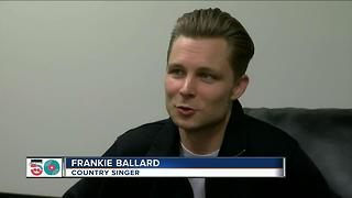 Country Star talks about headlining the big gig - Video