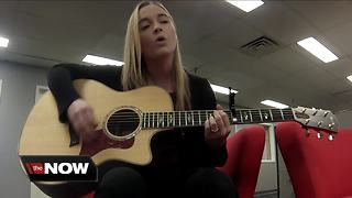 Song strikes a chord with pre-teen in need