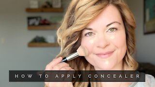 How To Apply Concealer|Thirty Something Tips