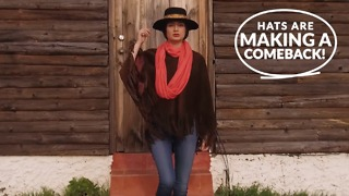 Hats are making a comeback! - Video