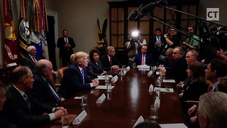 Potus-level Trolling: Trump Excludes Dems From Their Own Bill's Signing Ceremony - Video